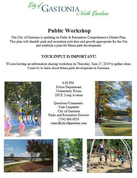 Parks and Rec Public Worship Master Plan