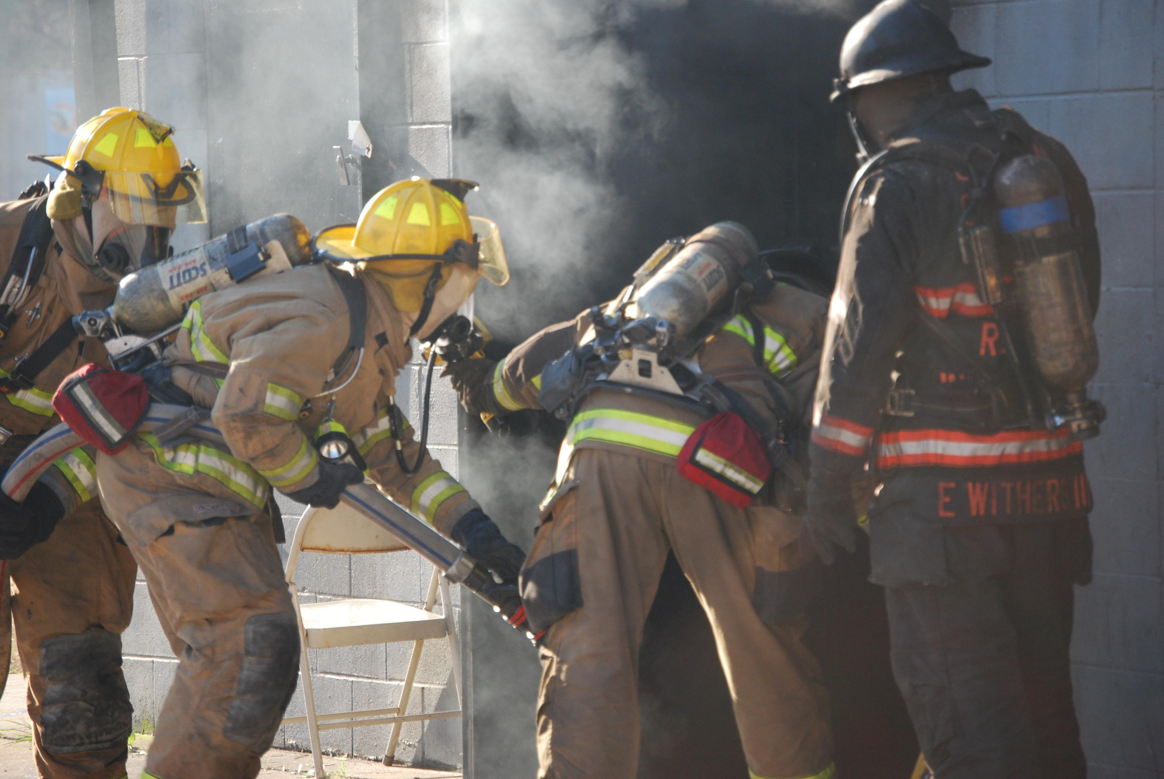 Gastonia Fire Recruit training 012