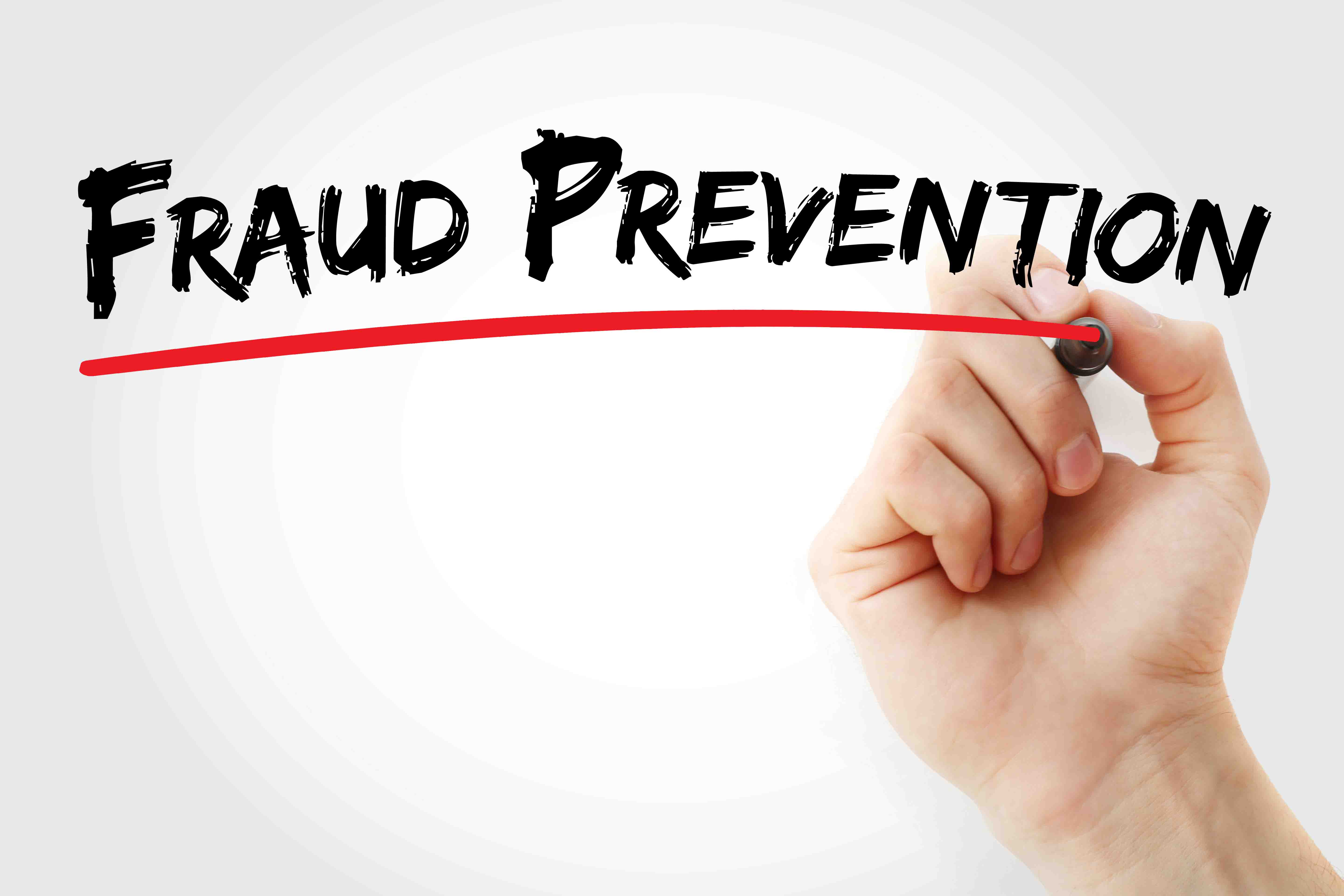 Fraud Prevention in writing