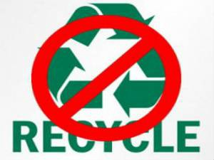 Stop Recycling